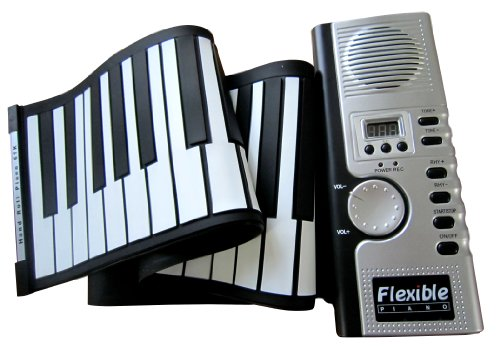 61 Keys Roll up Electronic Piano Keyboard Flexible Roll up Electronic Keyboard Piano by Lujex