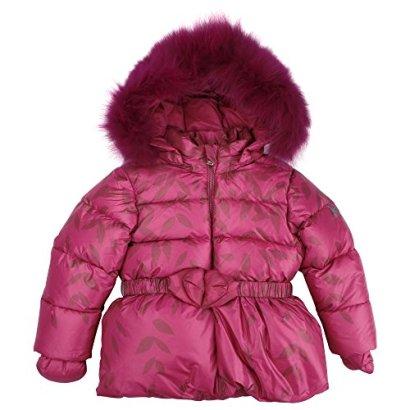 ADD-OUTERWEAR-AD80P-15-MAN210P-Fur-Trimmed-Jacket-Leaf-Print-12M-C415-Fushcia-Purple-Leaf