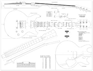 Amazon.com: Full Scale Plans for the Gibson Les Paul