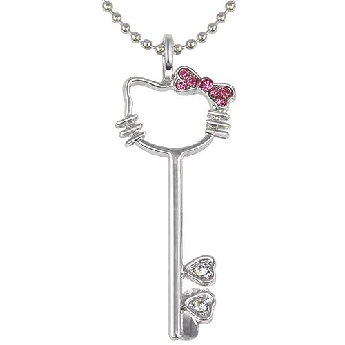 Hello Kitty Key Necklace
