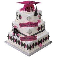 Day 158/365: Graduation Cake - 3 Quarters Today