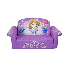 Disney Flip Open Sofa Bed Slipcovers Sears Canada Marshmallow Children S Furniture 2 In 1 Princess Sofia The First