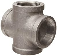 Anvil 8700167615, Malleable Iron Pipe Fitting, Cross, 1