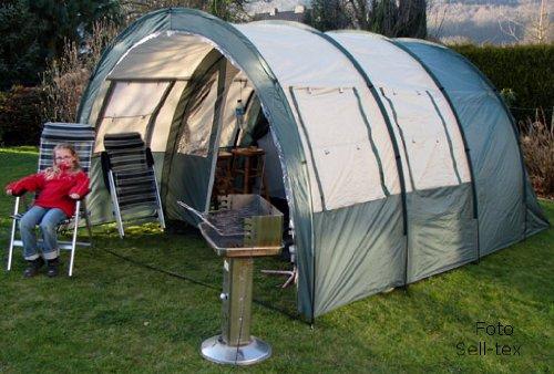 style expedition familienzelt mit gro em innenraum 2. Black Bedroom Furniture Sets. Home Design Ideas
