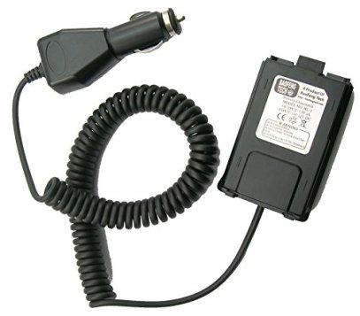BaoFeng BL-5 12V Battery Eliminator for BF-F8HP, UV-5X3, and UV-5R Radios