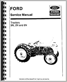 Ford 8N (1948-1952) Service Manual: Ford Manuals
