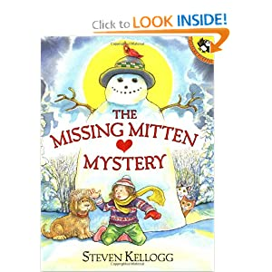 The Missing Mitten Mystery (Picture Puffin Books)