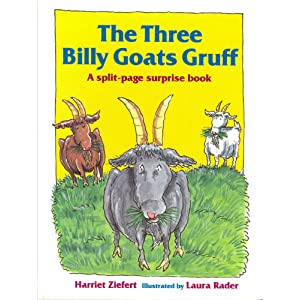 The Three Billy Goats Gruff: A Split-page Surprise Book