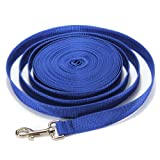 5FT/10FT/20FT/30FT/40FT Long Dog Puppy Pet Puppy Training Obedience Lead Leash recall 3 Color Choice