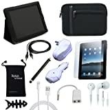 DigitalsOnDemand ® 12-Item Accessory Bundle for Apple iPad 4 With Retina Display 16GB, 32GB, 64GB Tablet