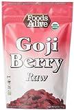 Foods Alive Organic Goji Berries, 8 Ounce  Bag