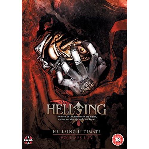 HELLSING OVA コンプリート DVD-BOX1 (I-IV話[1-4話], 200分) ヘルシング 平野耕太 アニメ [DVD] [Import] [PAL, 再生環境をご確認ください]