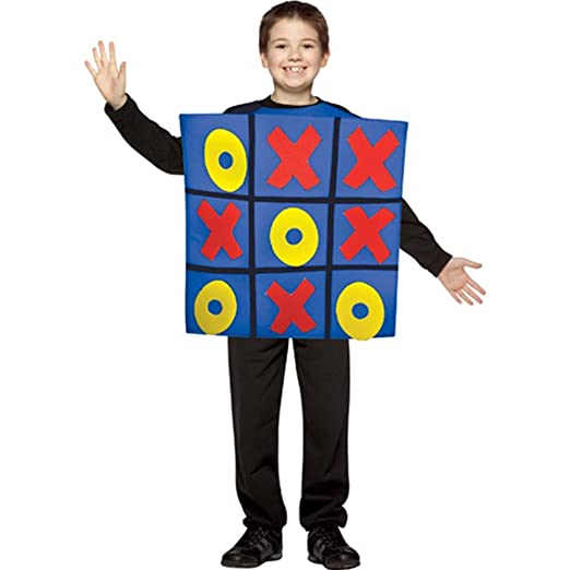 Tic Tac Toe Game Board Kids Costume