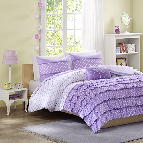 Mizone Morgan Purple Comforter Set