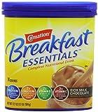 Carnation Breakfast ESSENTIALS Chocolate Powder, 17.7 Ounce Jar