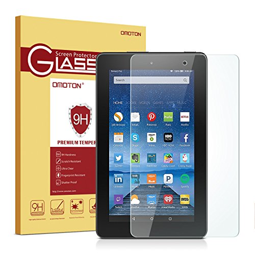 omoton scratch resist tempered glass screen protector,amazon fire 7-inch tablet,video review,5th generation,(VIDEO Review) Omoton Scratch Resist Tempered Glass Screen Protector for Amazon Fire 7-inch Tablet(5th Generation),