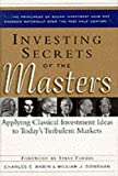 Investing Secrets of the Masters