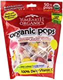 Yummy Earth Organic Lollipops, 12.3 Ounce