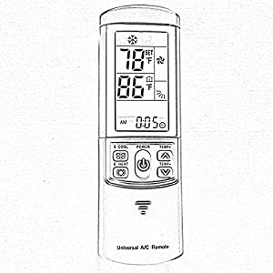 Amazon.com: 2000 in 1 Air Conditioner Ac Remote Control