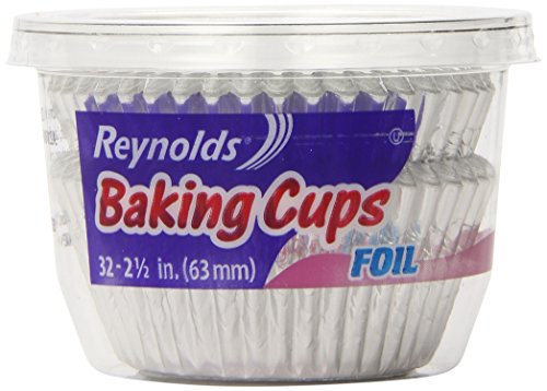 Reynolds Baking Cups Foil 32 Count Pack of 24 New eBay