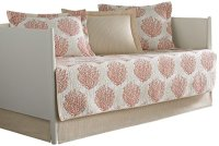 Laura Ashley 5-Piece Coral Coast Daybed Cover Set, Twin ...