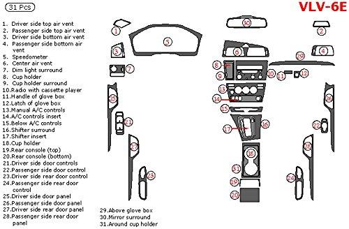 WOW Trim VLV-6E-RBBCF Volvo V70 Full Kits Automatic With