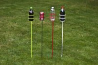 Decko Heavy Duty Outdoor Beverage/Drink Holder Stakes, 4 ...