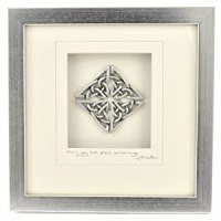 Amazon.com - Cynthia Webb Designs Celtic Knot Pewter Wall ...