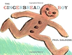 "Cover of ""The Gingerbread Boy"""