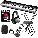 Casio PX-130 Digital Piano BUNDLE w/ Keyboard Stand, Bench, Headphones