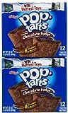 Kellogg's Pop-Tarts Toaster Pastries - Frosted Chocolate Fudge - 22 oz - 12 ct - 2 pk