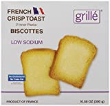 Grille Low Sodium Toast, 10.58 Ounce
