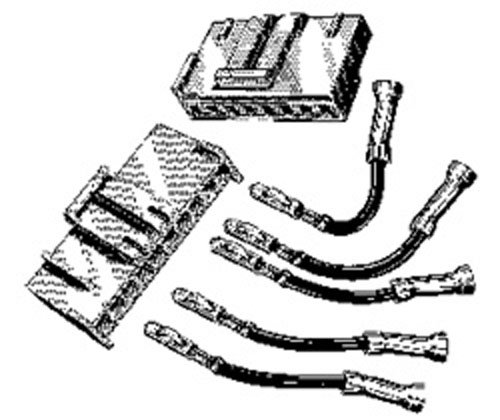 Ford Engine Fan Harness Connector Kit E4FZ-8C290-A