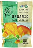 Go Naturally Organic Hard Candy Iced Mint Mango, 3.5-Ounce (Pack of 6)