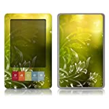 Bundle Monster Barnes & Noble Nook Ebook Vinyl Skin Cover Art Decal Sticker Protector Accessories - Green Floral