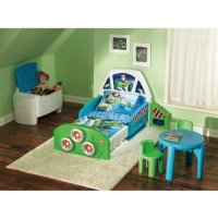 Buy Cheap Little Tikes Buzz Lightyear Toddler Bed ...