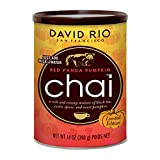 David Rio Red Panda Pumpkin Chai Mix, 14 Ounce
