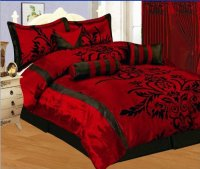 Red Comforters for Warm and Cozy Bedroom Decor - Susan Kaul