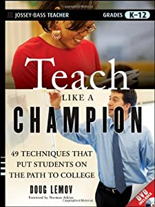 """Cover of """"Teach Like a Champion: 49 Techn..."""