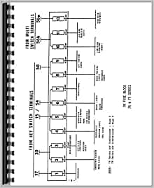 Deutz (Allis) D7807 Tractor Wiring Diagram Service Manual