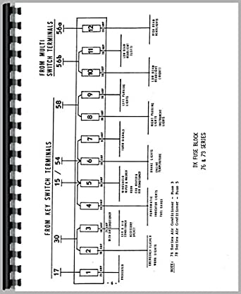 Amazon.com: Deutz (Allis) D5506 Tractor Wiring Diagram