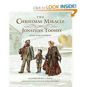 The Christmas Miracle of Jonathan Toomey with CD: Gift Edition