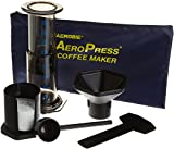 Aeropress Coffee Maker with Tote Bag and 2 Stainless Mesh Filters