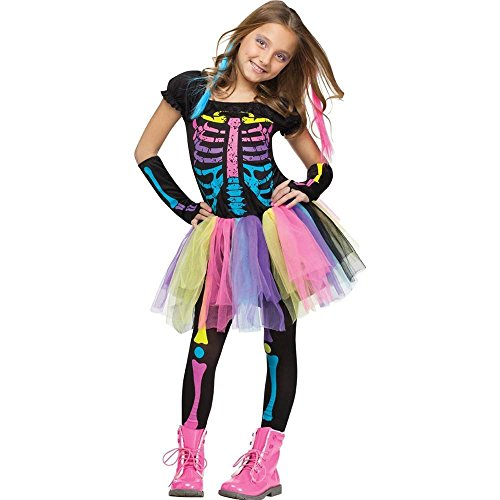 Fun World Funky Punk Bones Child's Costume Medium (8-10)
