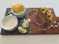 Azure Goods Stainless Steel Holder for TWO Tacos, Pita ...