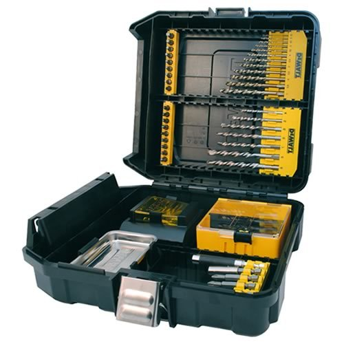 51dvwmWSinL - BEST BUY #1 DeWalt DT9281 Mini MAC Masonry and Metal Drilling Kit (63 Pieces) Reviews and price
