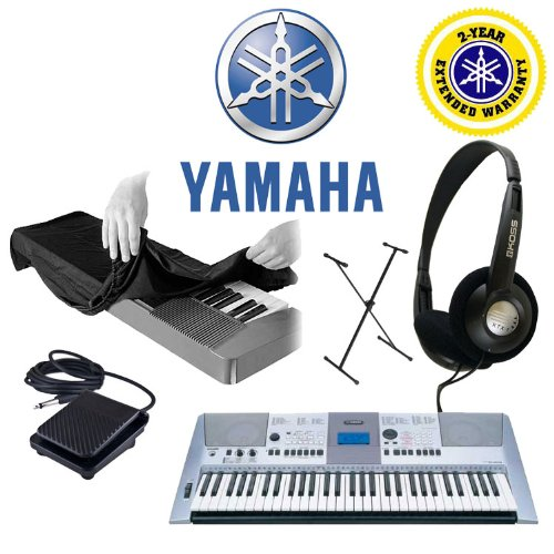 Cheap! Yamaha PSR-E413 61-Key Digital Keyboard, Koss Stereo