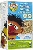 Earth's Best Sesame Street Yummy Tummy Instant Oatmeal - Apple & Cinnamon