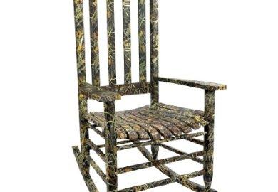 Camo Rocking Chair