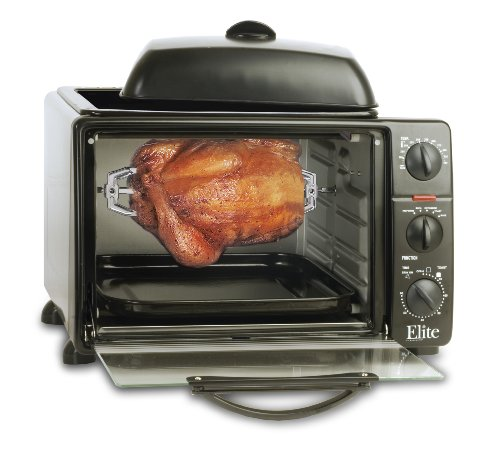 MaxiMatic ERO-2008S Elite Cuisine 6-Slice Toaster Oven